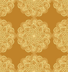 Retro Patterned Wallpaper vector