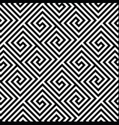 Square spiral seamless pattern vector