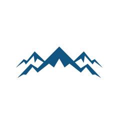 rocky mountain expedition logo vector image vector image