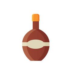 set design alcohol bottles vector image vector image