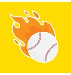 Baseball isolated team icon vector image vector image
