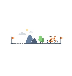Countryside sports activities vector