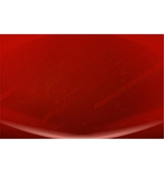 A red background vector image