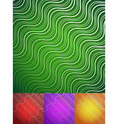 Abstract wavy lines background vector