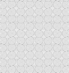 Gray merging archimedean spirals on continues vector
