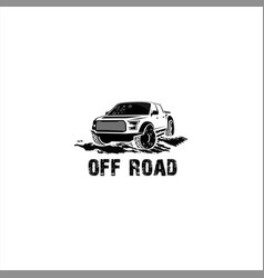 off road truck vector image