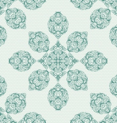 Seamless background in the style of Damascus vector