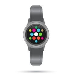 Smart Watches icon Smart gadget vector image