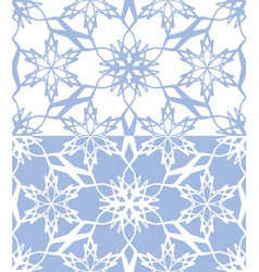 snowflakes seamless texture 02 vector image