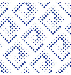 Subtle pattern with dotted squares vector