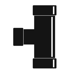 Water tube icon simple style vector