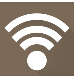 Wireless web icon vector image