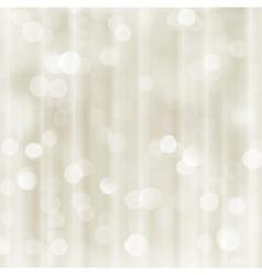Silver beige holiday christmas bokeh light vector