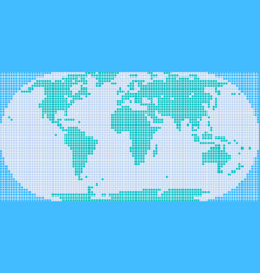 World map of squares royalty free vector image square dot world map vector image gumiabroncs Image collections