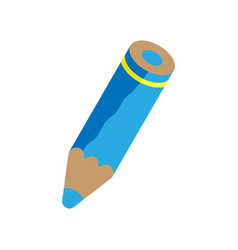 blue pencil vector image