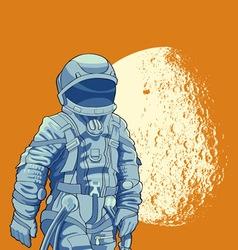 Cosmonaut vector image