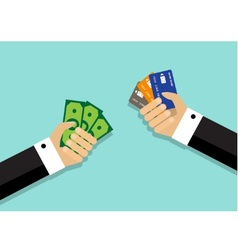 Different ways of payment of the purchase vector