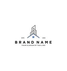 Home build logo design vector