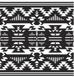 tribal print aztec navajo seamless pattern vector image