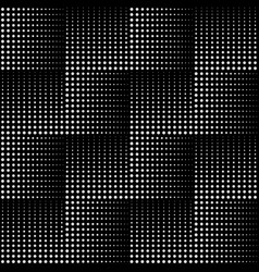 dotted line geometric seamless pattern vector image vector image