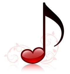 lovemusic vector image vector image