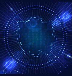 Big data visualization vector