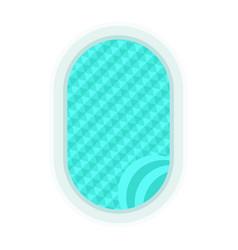 Blue swimming pool vector