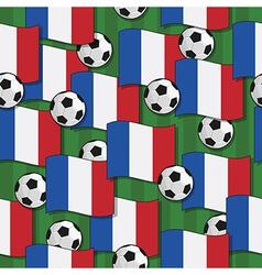 France football pattern vector