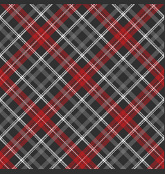 Gray plaid fabric texture seamless pattern vector