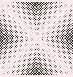 Halftone seamless pattern transition effect vector