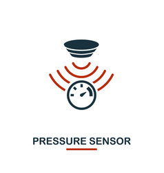 Pressure sensor icon from sensors icons collection vector
