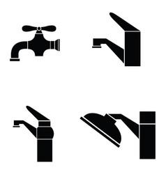 tap icon set vector image