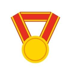 medal price winner award vector image