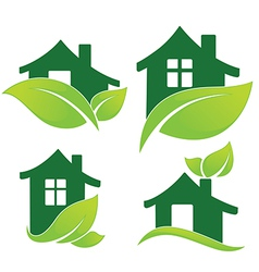 green home vector image vector image