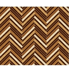 Parquet pattern in dark brown colors vector image vector image