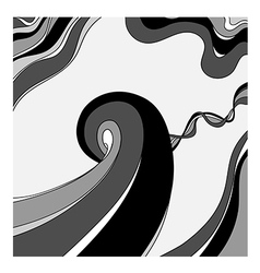 abstract monochrome background vector image vector image