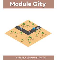 Isometric modules for construction vector