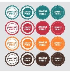 Lowest Price Golden Label vector
