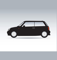 Modern shape of car vector
