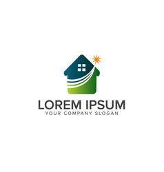 real estate logohome logohouse logoproperty vector image