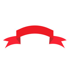 ribbon red sign 1303 vector image