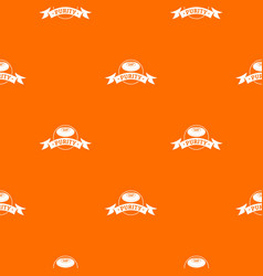 Soap purity pattern orange vector
