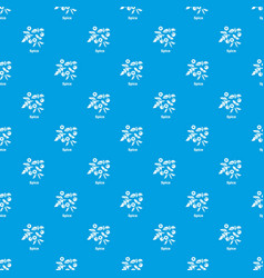Spice pattern seamless blue vector