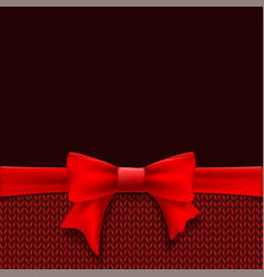 template christmas greeting card or banner vector image