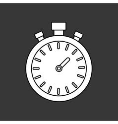 Sport timer clock vector