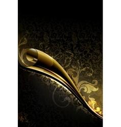 Luxury Wallpaper Backdrop vector image