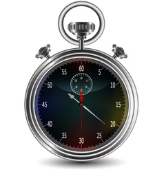 design of stopwatch vector image