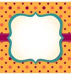 frame background vector image