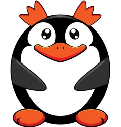 King penguin vector image