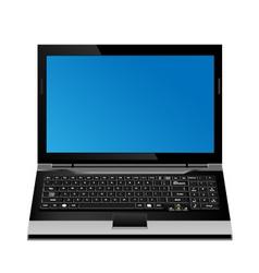 Laptop computer vector format vector